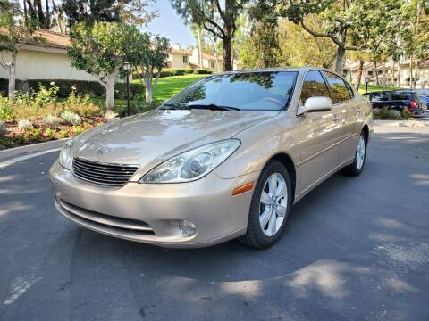 2005 Lexus ES 330 for sale at E MOTORCARS in Fullerton CA