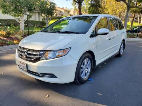 2016 Honda Odyssey for sale at E MOTORCARS in Fullerton CA
