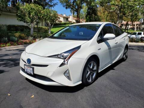 2016 Toyota Prius for sale at E MOTORCARS in Fullerton CA