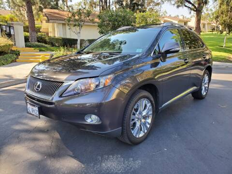 2010 Lexus RX 450h for sale at E MOTORCARS in Fullerton CA