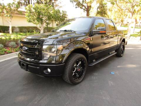 2013 Ford F-150 for sale at E MOTORCARS in Fullerton CA