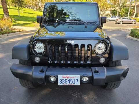 2018 Jeep Wrangler JK Unlimited for sale at E MOTORCARS in Fullerton CA