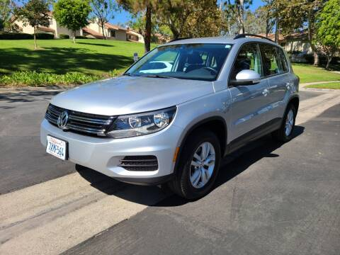 2017 Volkswagen Tiguan for sale at E MOTORCARS in Fullerton CA