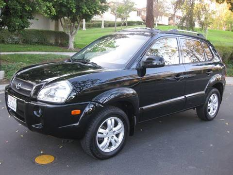 2007 Hyundai Tucson for sale at E MOTORCARS in Fullerton CA