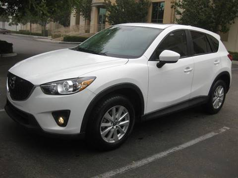 2013 Mazda CX-5 for sale at E MOTORCARS in Fullerton CA