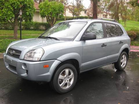 2008 Hyundai Tucson for sale at E MOTORCARS in Fullerton CA