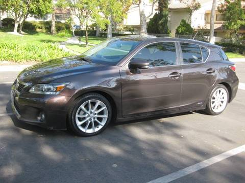 2011 Lexus CT 200h for sale at E MOTORCARS in Fullerton CA