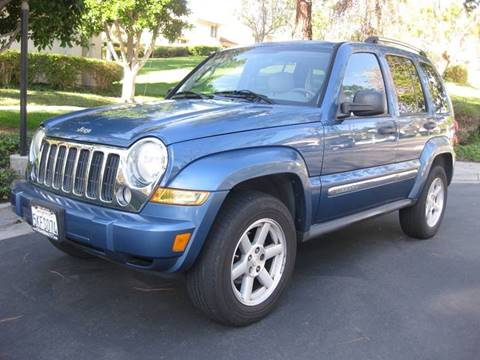 2005 Jeep Liberty for sale at E MOTORCARS in Fullerton CA