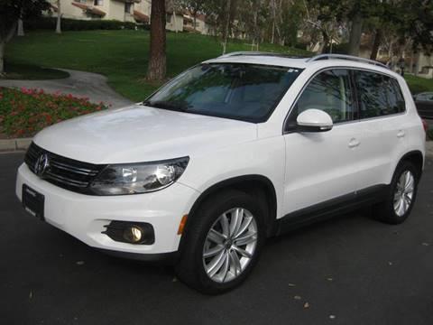 2012 Volkswagen Tiguan for sale at E MOTORCARS in Fullerton CA