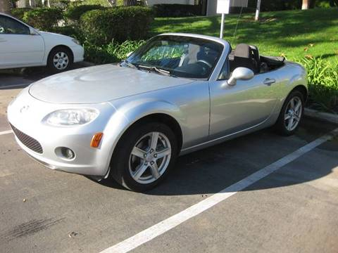2006 Mazda MX-5 Miata for sale at E MOTORCARS in Fullerton CA