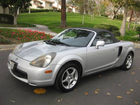 2002 Toyota MR2 Spyder for sale at E MOTORCARS in Fullerton CA