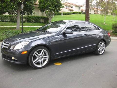 2011 Mercedes-Benz E-Class for sale at E MOTORCARS in Fullerton CA