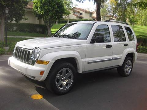 2006 Jeep Liberty for sale at E MOTORCARS in Fullerton CA