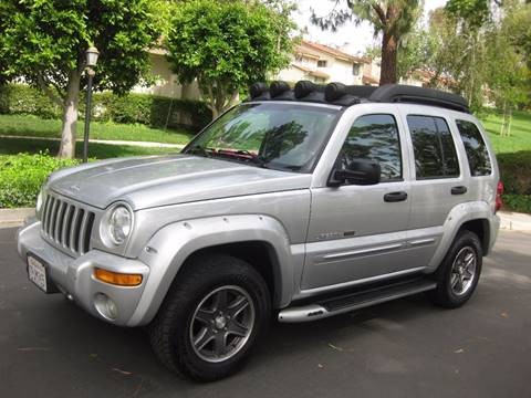 2003 Jeep Liberty for sale at E MOTORCARS in Fullerton CA