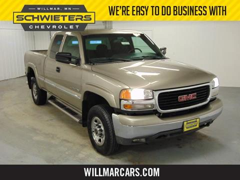 2002 GMC Sierra 2500HD for sale in Willmar, MN