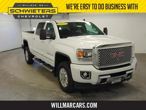 2015 GMC Sierra 2500HD for sale in Willmar, MN