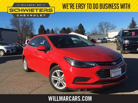 2017 Chevrolet Cruze for sale in Willmar, MN
