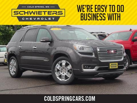 used 2016 gmc acadia for sale in minnesota. Black Bedroom Furniture Sets. Home Design Ideas