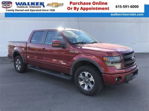 2013 Ford F-150 for sale at WALKER CHEVROLET in Franklin TN