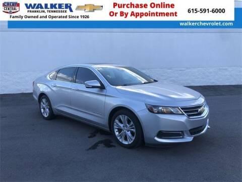 2014 Chevrolet Impala for sale at WALKER CHEVROLET in Franklin TN
