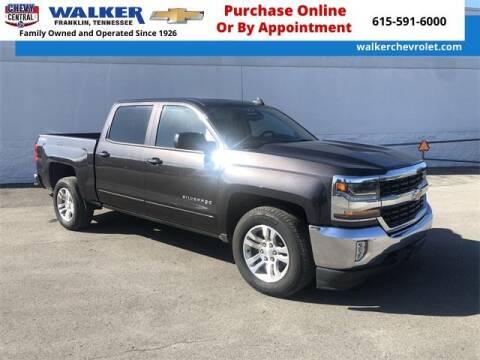 2016 Chevrolet Silverado 1500 for sale at WALKER CHEVROLET in Franklin TN