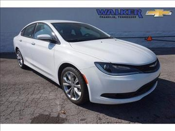2015 Chrysler 200 for sale in Franklin, TN