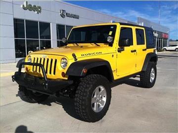 2011 Jeep Wrangler Unlimited for sale in El Dorado, AR