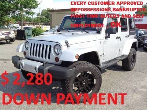 2012 Jeep Wrangler Unlimited for sale in South Hackensack, NJ