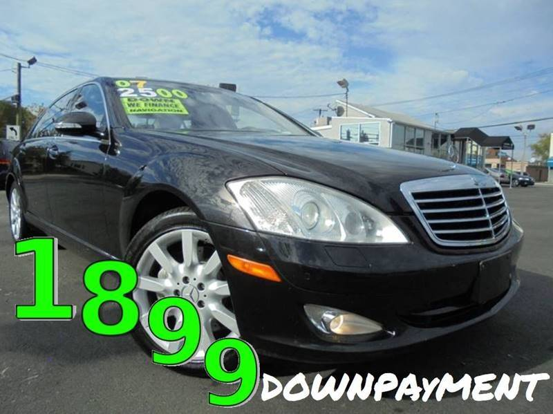 2007 Mercedes-Benz S-Class S 550 4MATIC AWD 4dr Sedan - South Hackensack NJ