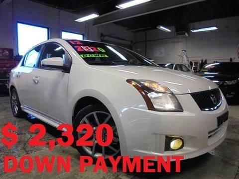 2012 Nissan Sentra SE-R Spec V 4dr Sedan In South Hackensack NJ ...