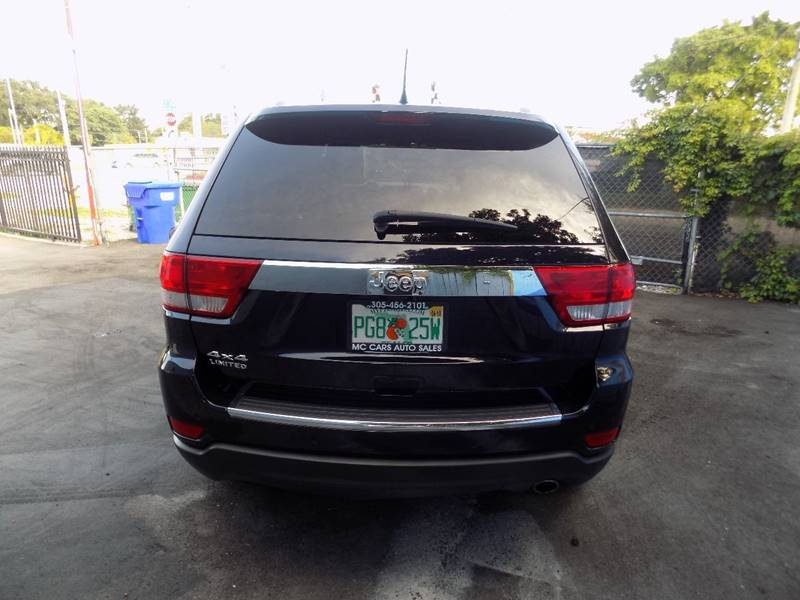 2011 jeep grand cherokee 4x4 limited 4dr suv in miami fl auto. Cars Review. Best American Auto & Cars Review
