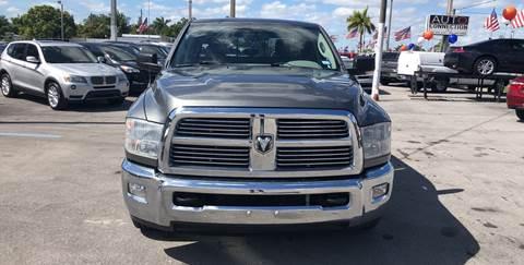 2012 RAM Ram Pickup 2500 for sale in Miami, FL