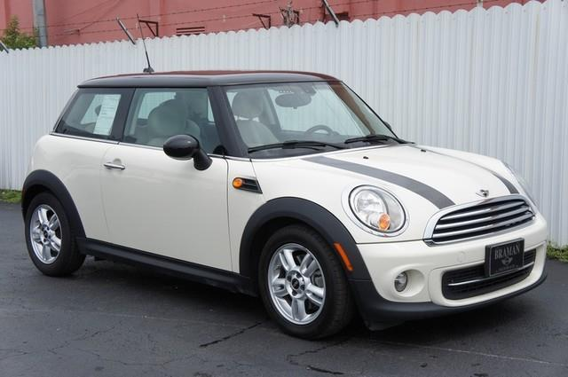 2013 MINI HARDTOP COOPER 2DR HATCHBACK white instant financing with approved credit clean car