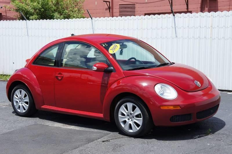 2009 VOLKSWAGEN NEW BEETLE BASE 2DR HATCHBACK 6A red abs brakesair conditioningalloy wheelsam