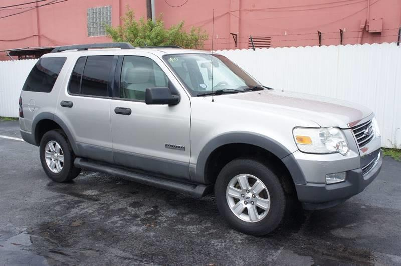 2006 FORD EXPLORER XLT 4DR SUV WV6 silver abs - 4-wheel airbag deactivation - occupant sensing