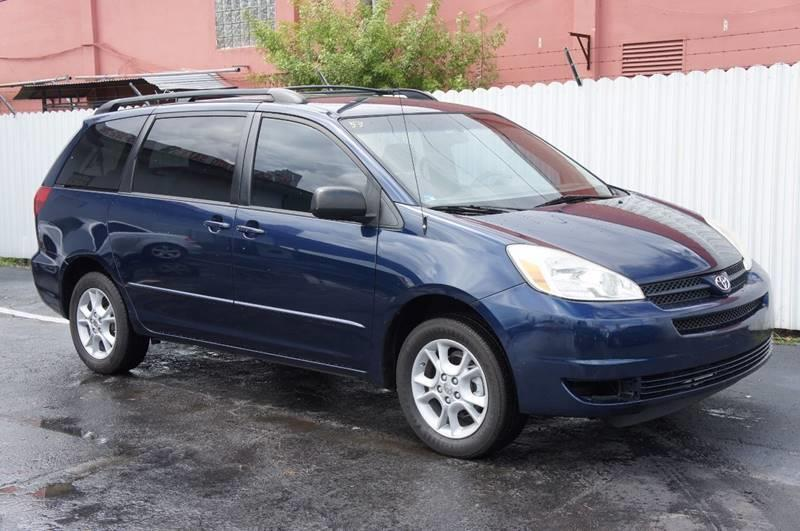 2005 TOYOTA SIENNA LE 7 PASSENGER AWD 4DR MINI VAN blue front air conditioning front air conditi