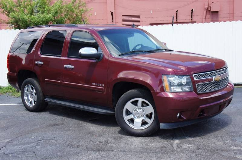 2008 CHEVROLET TAHOE LS 4X2 4DR SUV burgundy clean carfax great easy financing terms for
