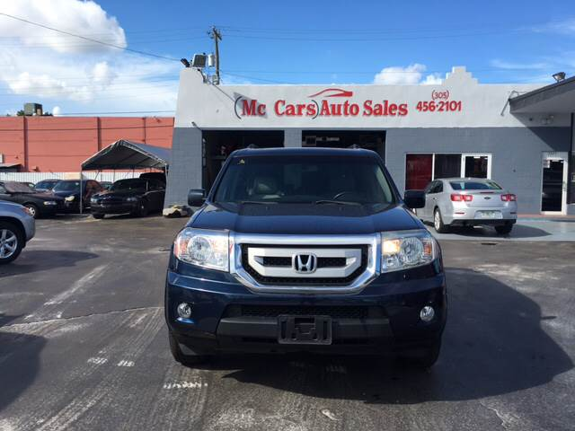 2011 HONDA PILOT EX-L 4DR SUV blue this is the perfect car for you3rd row seat sunroof d