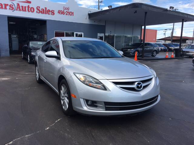 2012 MAZDA MAZDA6 I TOURING 4DR SEDAN silver 2012 mazda has again equipped its base i sport with