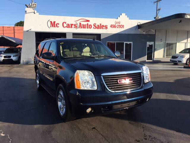 2007 GMC YUKON SLT 4DR SUV W4SB W 2 PACKAGE blue 2-stage unlocking doors abs - 4-wheel adjust