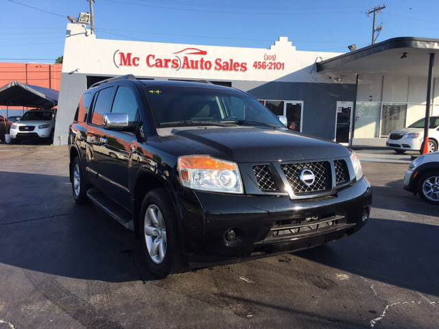 2010 NISSAN ARMADA SE 4X2 4DR SUV black you will instantly feel at home once you step into this n