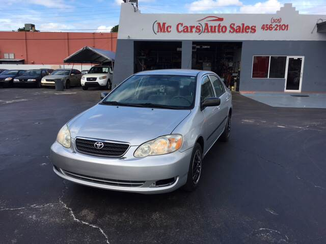 2007 TOYOTA COROLLA CE 4DR SEDAN 18L I4 5M silver the toyota corolla is simply the best sellin