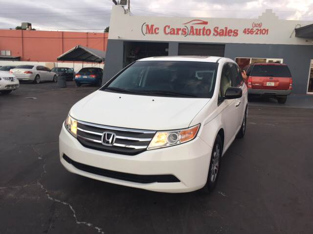 2012 HONDA ODYSSEY EX-L WDVD 4DR MINI VAN WDVD white abs - 4-wheel active head restraints - du