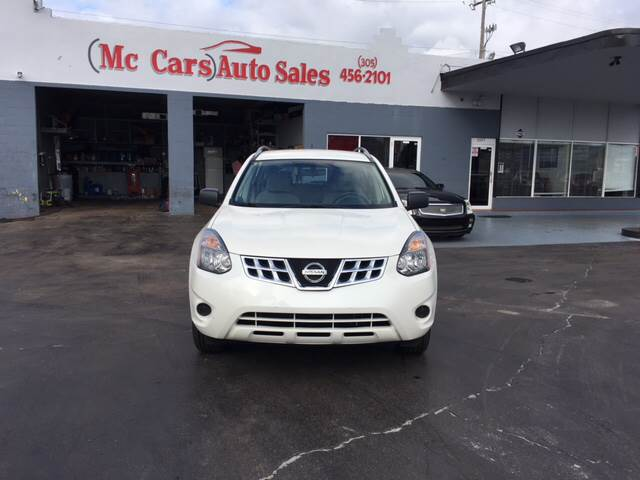 2014 NISSAN ROGUE SELECT S 4DR CROSSOVER white 2014 nissan rogue select s  vehicle highlights in