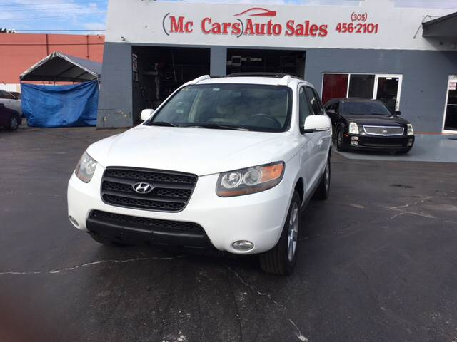 2007 HYUNDAI SANTA FE SE 4DR SUV white excellent condition price reduced priced to move