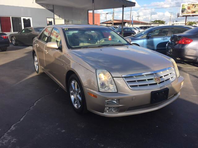 2005 CADILLAC STS BASE 36 4DR SEDAN gold call 844226-6867  for sales this beautiful 2005