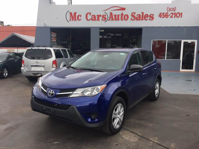 2015 TOYOTA RAV4 LE AWD 4DR SUV blue this 2015 toyota rav4 4dr awd 4dr le features a 25l l4 fi d