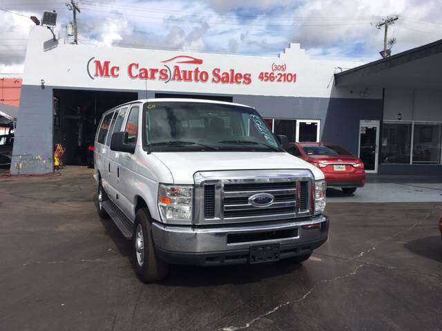 2012 FORD E-SERIES WAGON E-350 SD XLT 3DR EXTENDED PASSEN white wow amazing truck exception