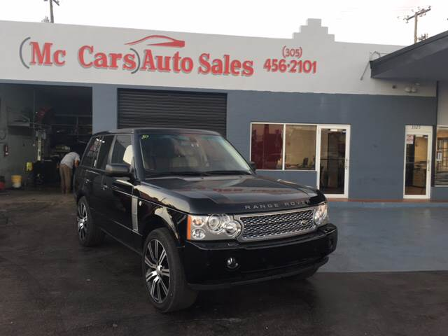 2006 LAND ROVER RANGE ROVER SUPERCHARGED 4DR SUV 4WD black 4wd selector - electronic hi-lo 4wd t