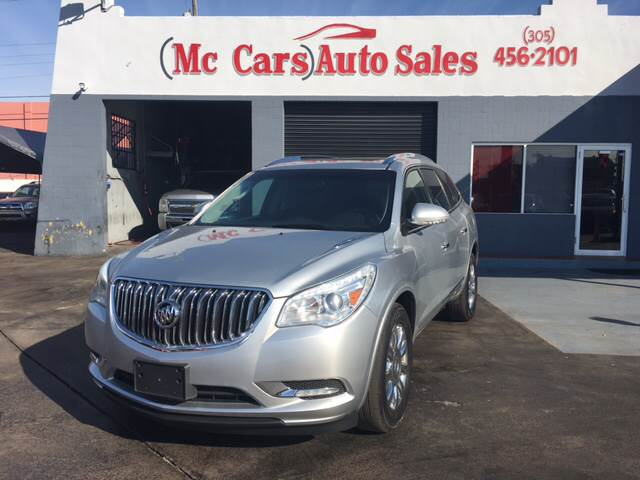 2013 BUICK ENCLAVE LEATHER AWD 4DR SUV silver exhaust - dual tip headlight bezel color - chrome